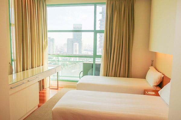 チャトリウムホテル:ベッドルーム