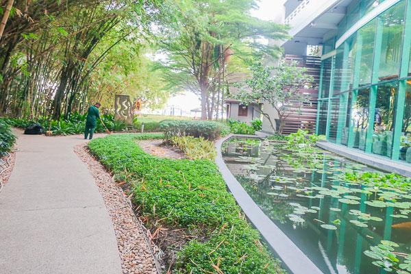 チャトリウムホテル:庭
