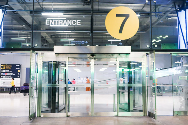 Take Exit 7 on the 1st floor of Suvarnabhumi Airport