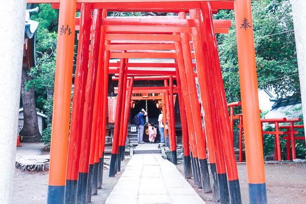 品川神社横のお稲荷さん