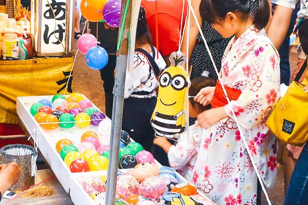 品川神社例大祭の屋台