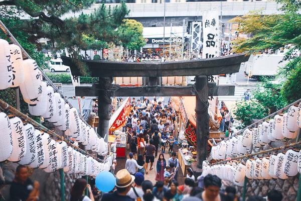 品川神社 例大祭