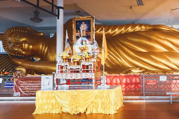 Buddha statue of Wat Worachanyawas