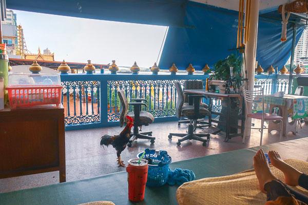 2階の景色の良いオススメのマッサージ屋