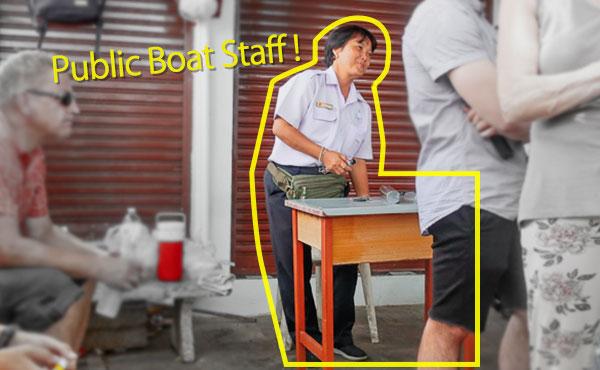 Chao Phraya Express staff
