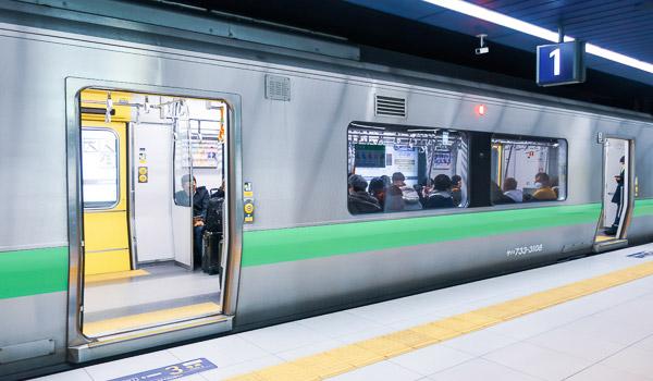 新千歳空港から札幌市内快速エアポート