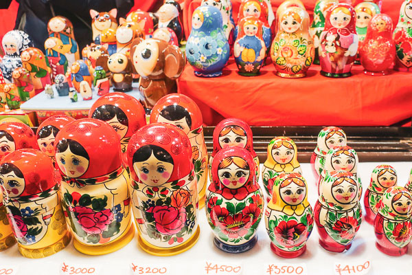 Russian Matryoshka Shop
