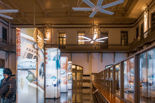 日本銀行旧小樽支店 展示物
