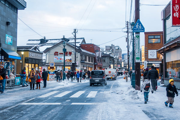 小樽『堺町通り商店街』