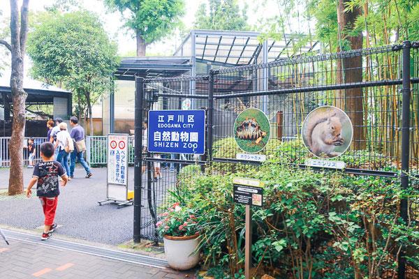 行船公園に無料の動物園!? 『江戸川区自然動物公園』