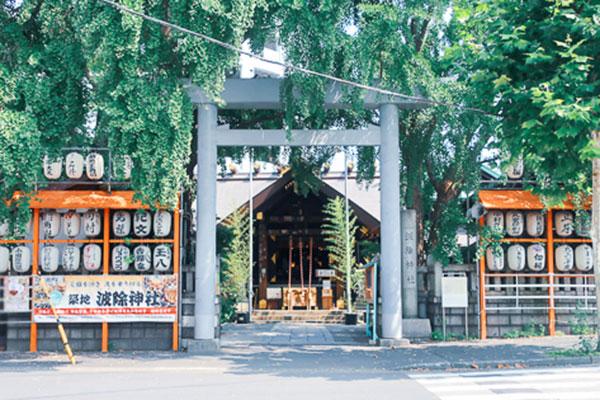 tsukijinamiyokeshrine