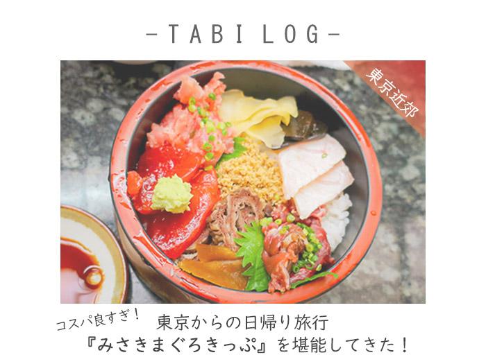 コスパ良すぎ!東京からの日帰り旅行『みさきまぐろきっぷ』を堪能してきた!