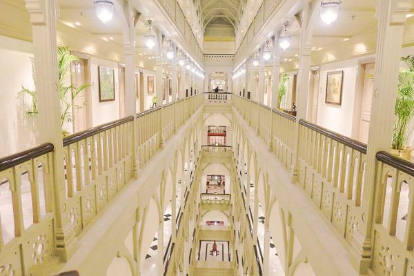 タージマハルホテルパレス館廊下