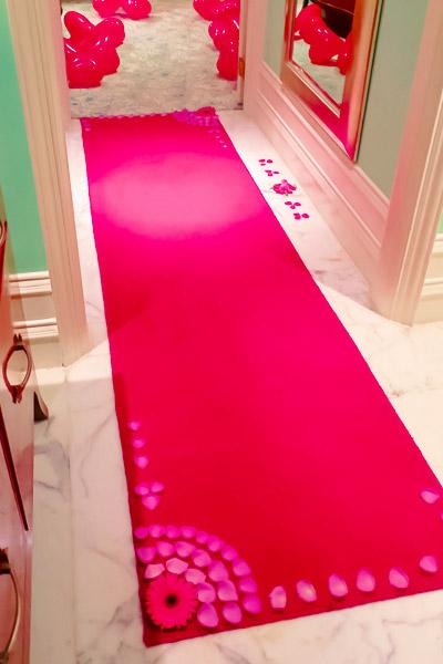 タージマハルホテル部屋デコレーション