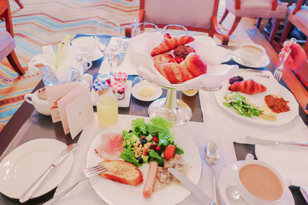 タージマハルホテルシーラウンジ朝食ブッフェ2