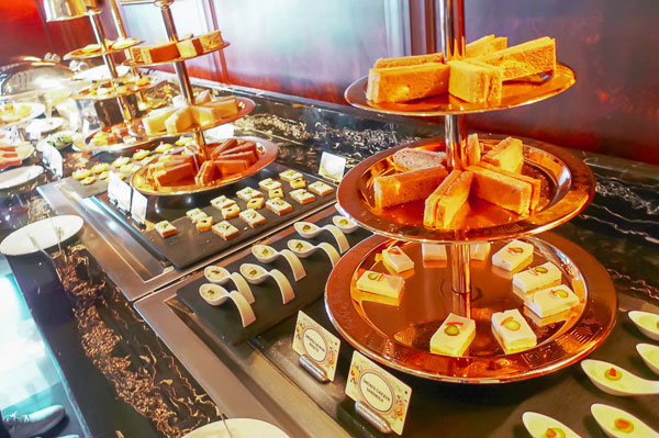High tea is free for hotel guests!