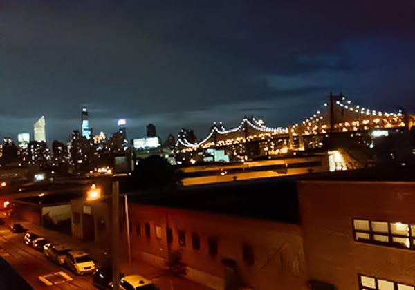 ザローカルホステル屋上からの景色