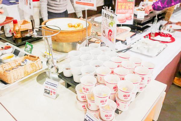 ホテルモントレ札幌朝食北海道の食材