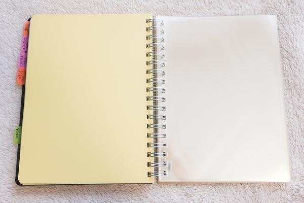 ロルバーンの手帳ポケットページ