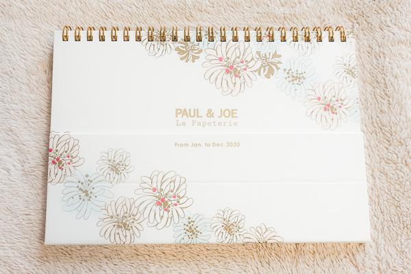 PAUL&JOEの 卓上カレンダー