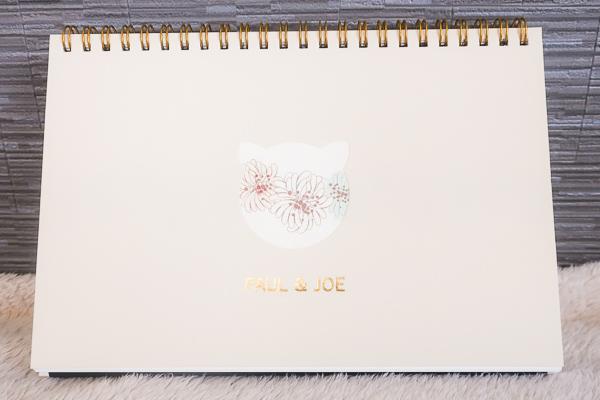 PAUL&JOEの卓上カレンダー1枚目