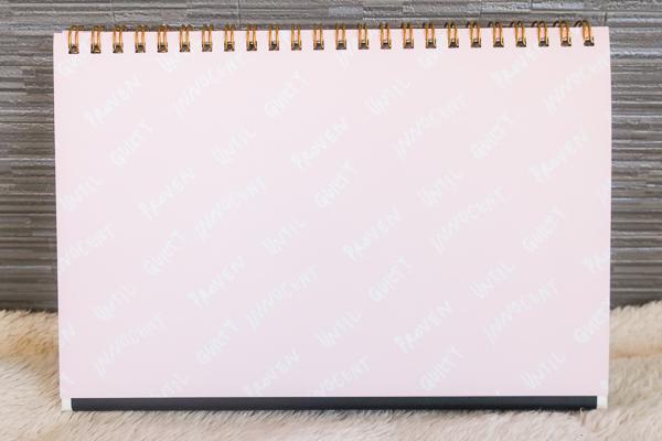 4種類のノートページ