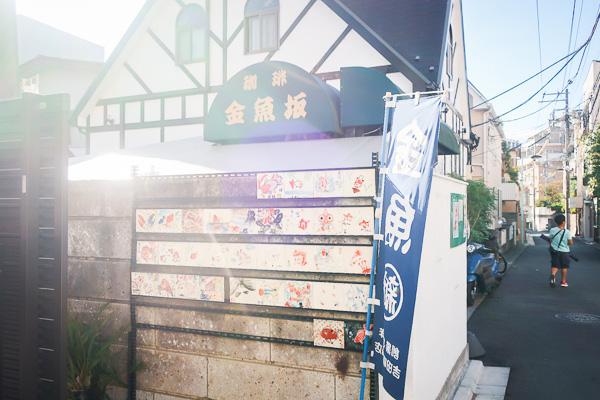 金魚に囲まれた卸問屋&カフェ『金魚坂』に行ってきた