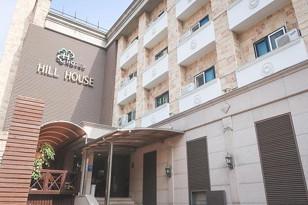 ヒルハウスホテルホテル外観
