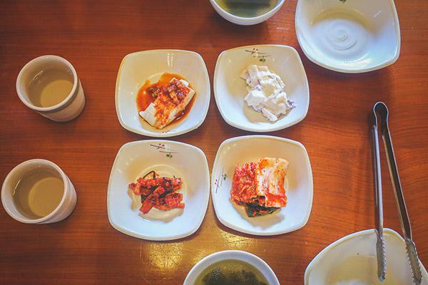 4種類の小鉢