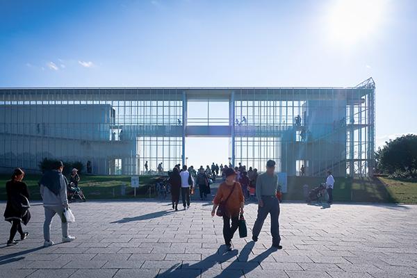 葛西臨海公園建物展望レストハウスクリスタルビュー
