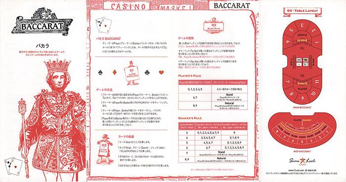 カジノ遊び方 バカラ