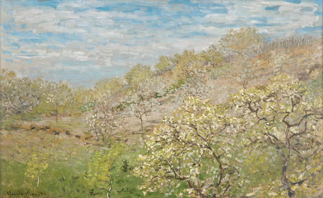 クロード・モネ『花咲く林檎の樹』