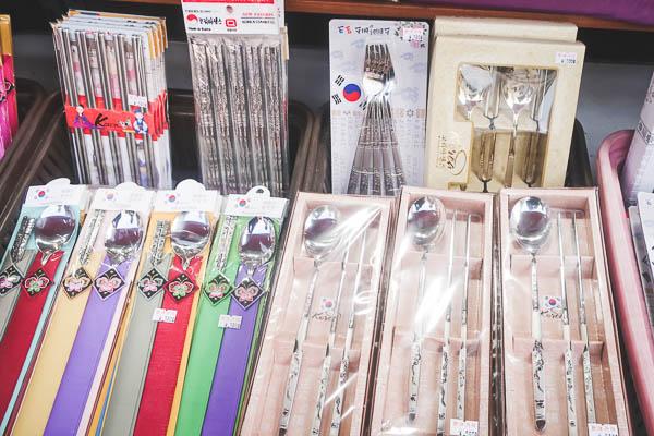 韓国土産箸スプーンセット