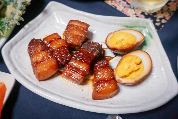 良い夫婦の日ディナー豚の角煮
