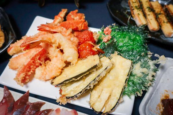 良い夫婦の日ディナー天ぷら