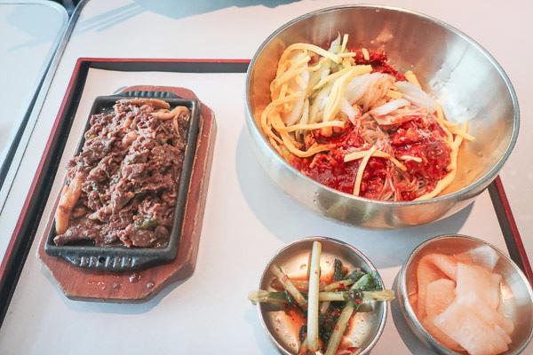 仁川空港第一ターミナルフードコート冷麺