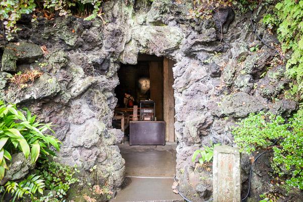 長谷寺洞窟