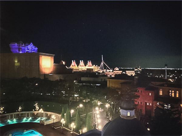 ミラコスタヴェネツィアサイド最上階からの景色・眺め