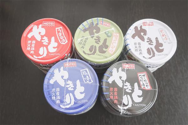 非常食③ やきとり缶 5種類×3