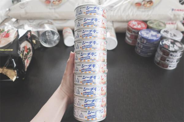 非常食④ ツナ缶 10缶