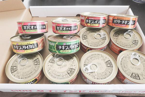 非常食⑤ タイ・インド5種類×3缶(全15缶)