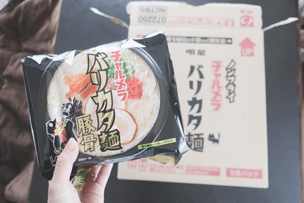 非常食⑥ チャルメラバリカタ麵5袋×6 (全30食分)