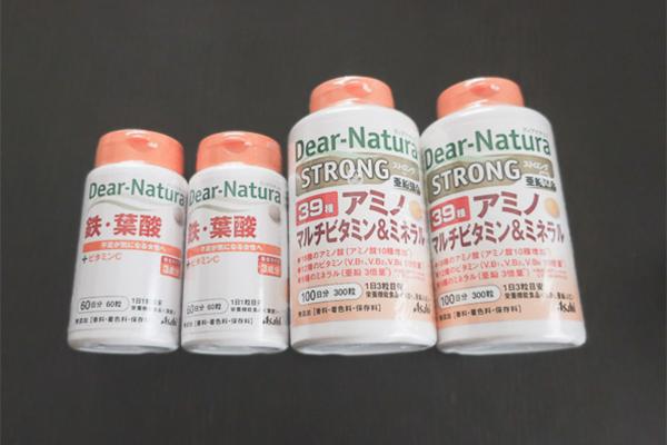 非常食⑦ サプリメント2種類×2