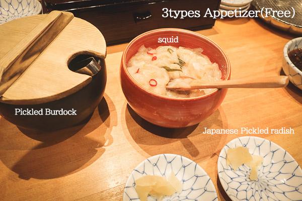 Kanekohannosuke Tempura appetizer