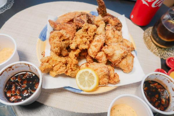 韓国チキンパーティー