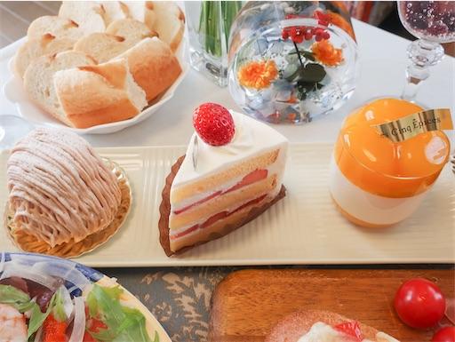 誕生日パーティーケーキ
