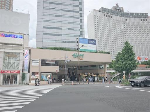 緊急事態宣言明け品川駅周辺