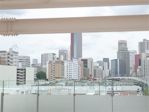 高輪ゲートウェイから見える東京タワー