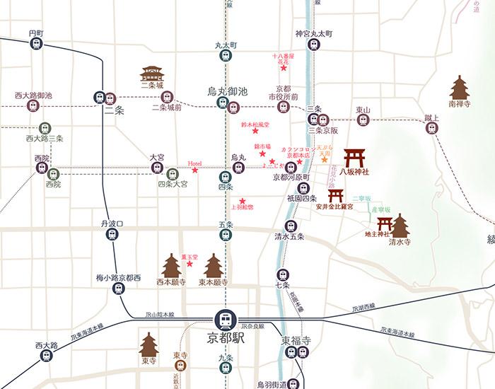 京都マップ拡大