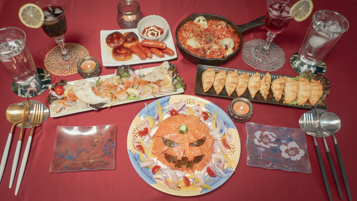 ハロウィンパーティーご飯